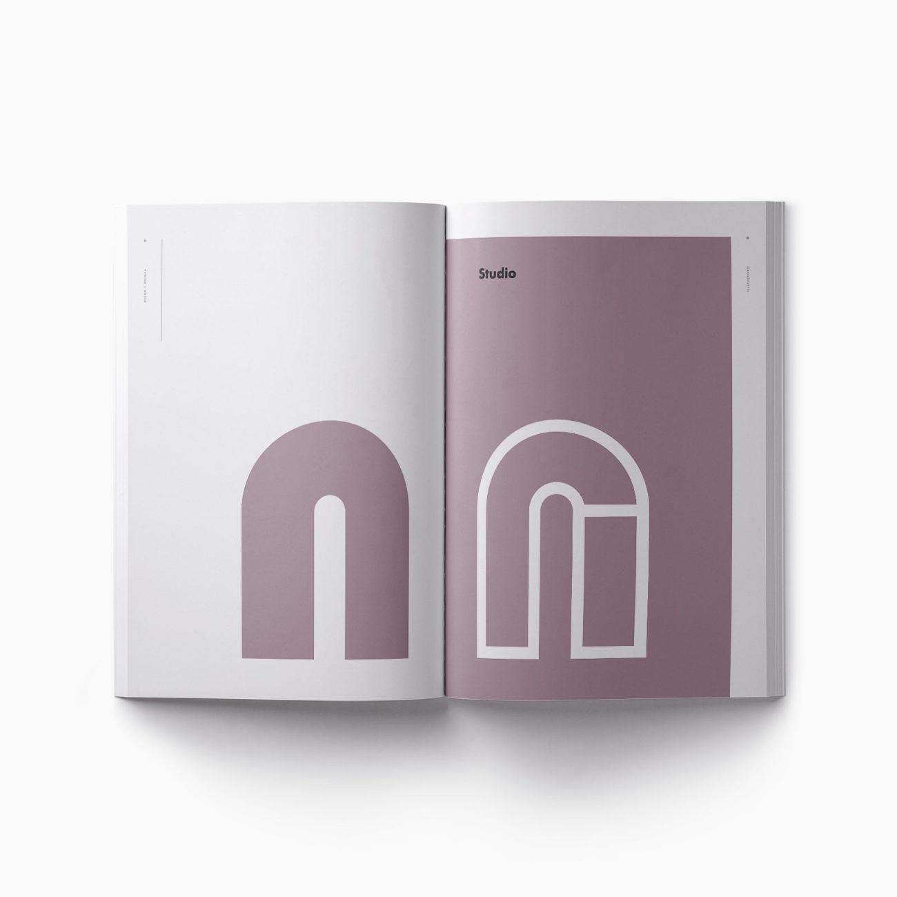 Progetto grafico catalogo Anima