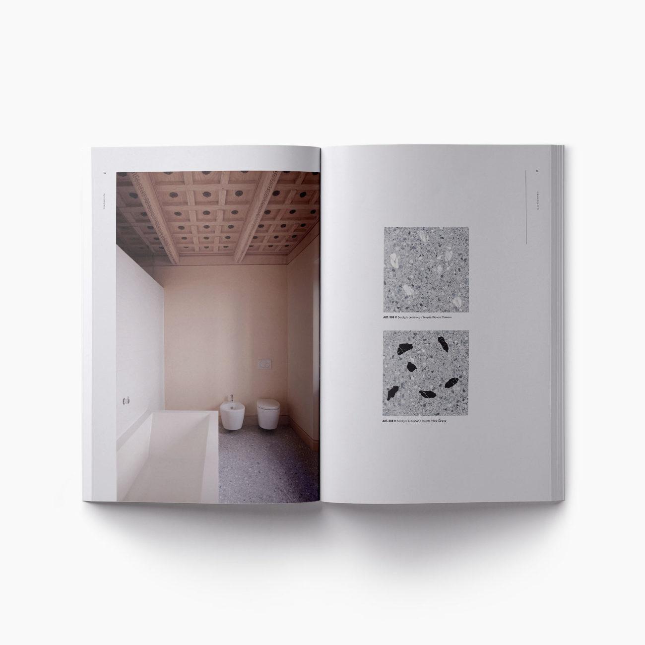 Pagine catalogo interno bagno