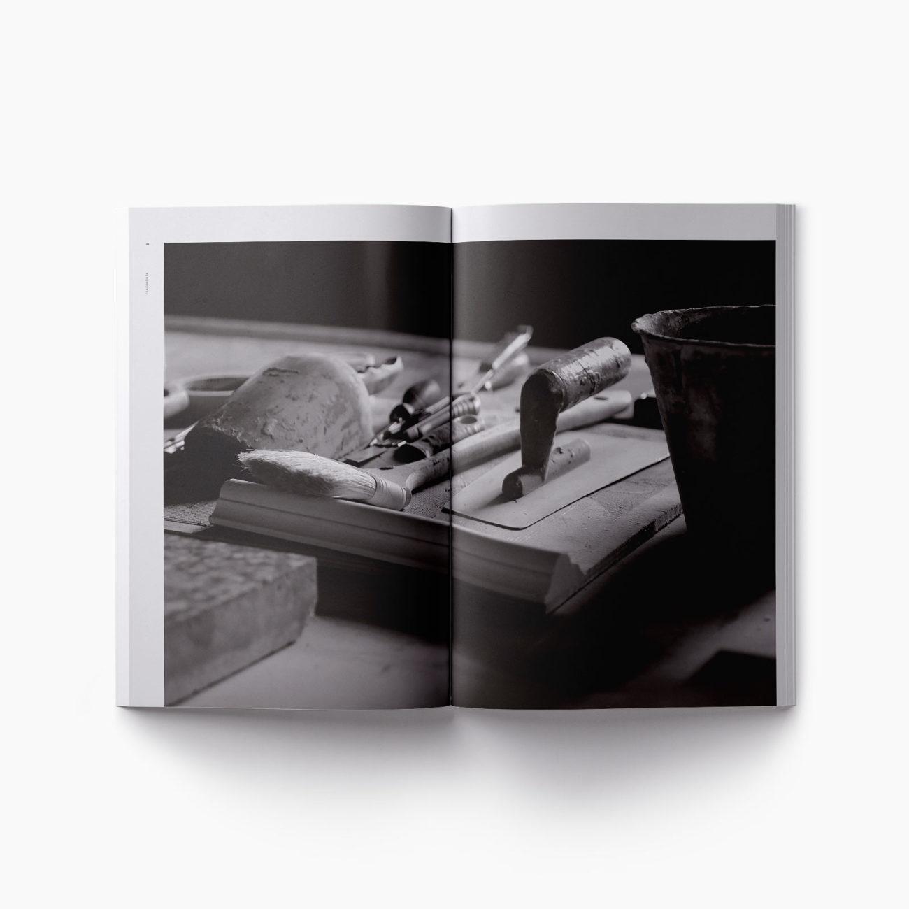 Dettaglio lavorazione catalogo Fragmenta