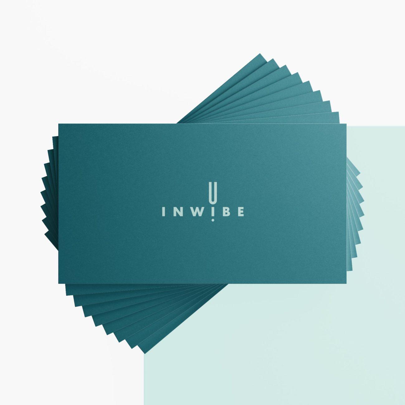 Inwibe progetto grafico identità visiva