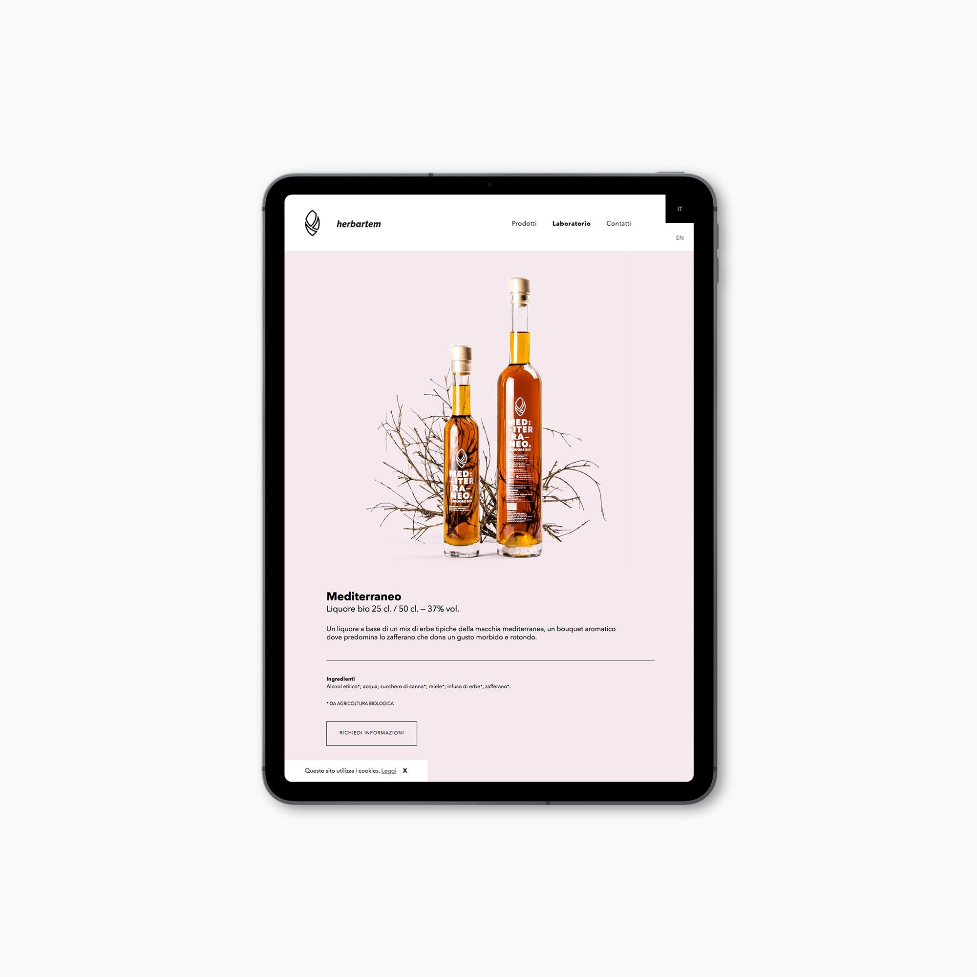 Progetto e sviluppo sito web Herbartem