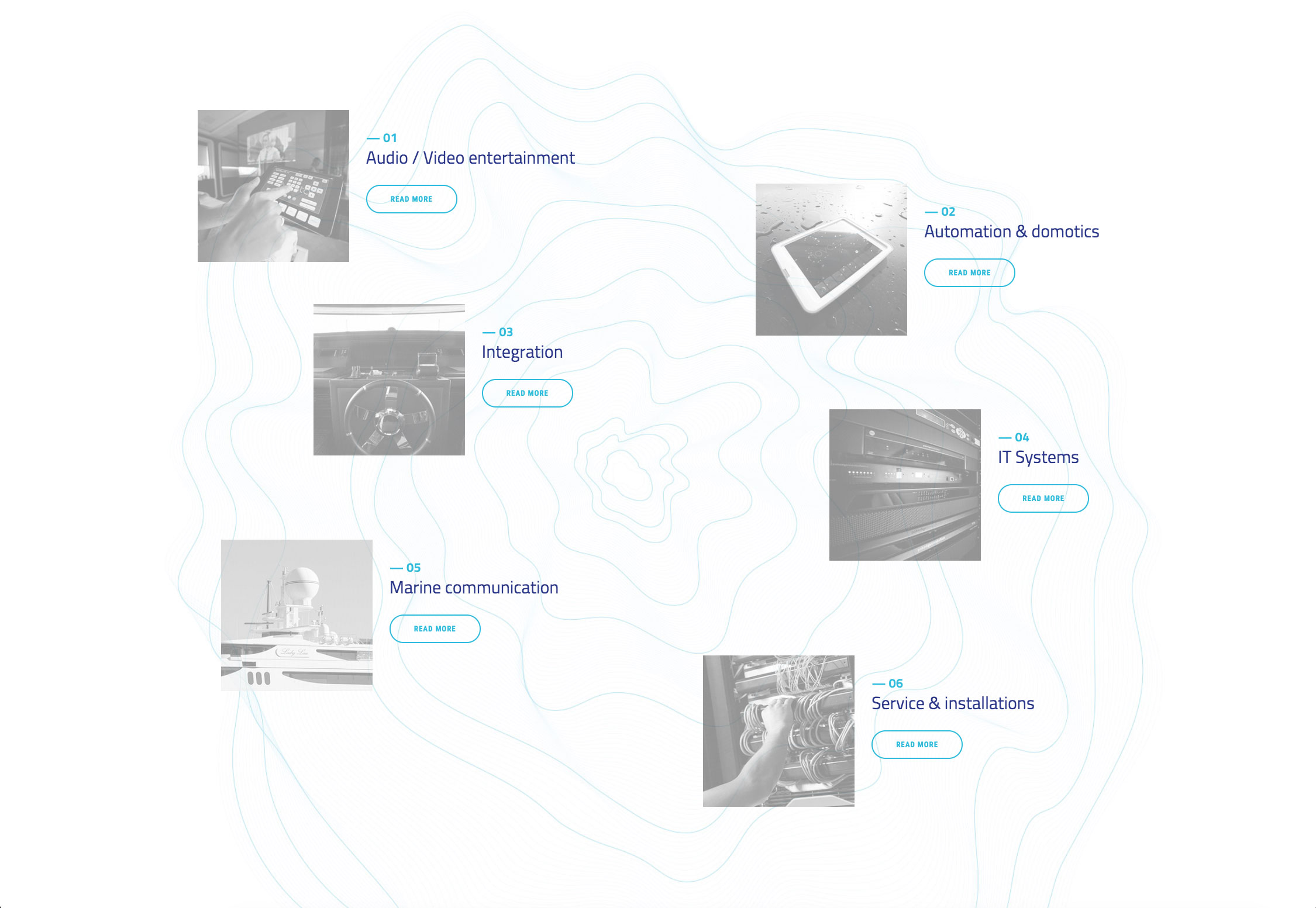 Progetto e sviluppo sito web Yes Group